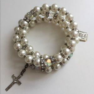 Jewelry - Vintage Rosary Bracelet